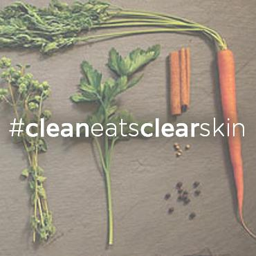 Eating clean is one of the best ways to get your skin clear.