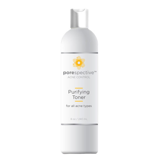 An alcohol-free toner with the antimicrobial properties of benzoic and salicylic acid to disinfect acne-prone skin and reduce the appearance of pores.