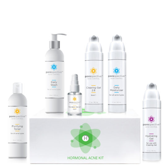 Hormonal Acne Kit to clear hormonal acne