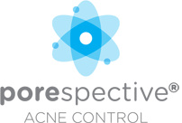 POREspeciative Acne Control logo for acne treatment and clear skin