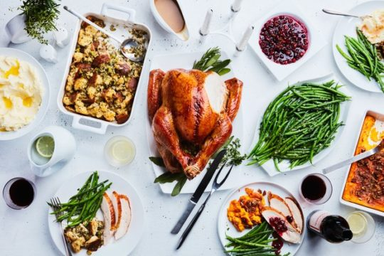 acne-safe Thanksgiving